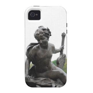 Cherub Angel Statue in Paris iPhone 4/4S Covers