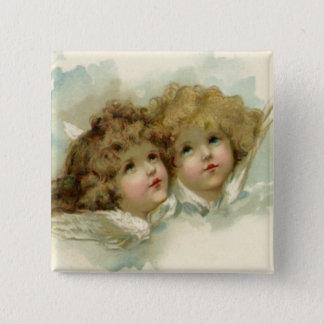 Cherub Angels Button