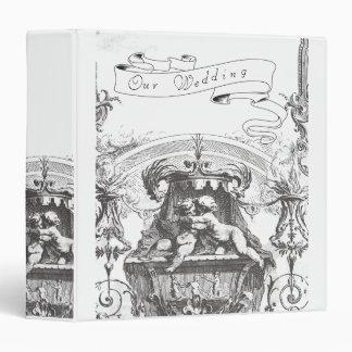 Cherub Angels French Architecture Album 3 Ring Binder