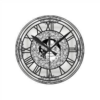 Cherub Anniversary Clock Round Wall Clocks