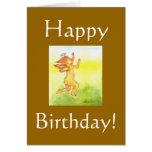 Cherub  Birthday Card