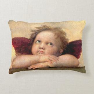 Cherub by Raphael Decorative Pillow