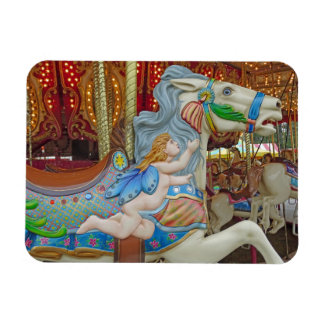 Cherub Carousel Pony Magnet