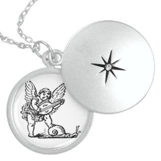 CHERUB - CHILD - ANGEL LOCKET NECKLACE