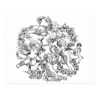 cherub-clip-art-12 tarjetas postales