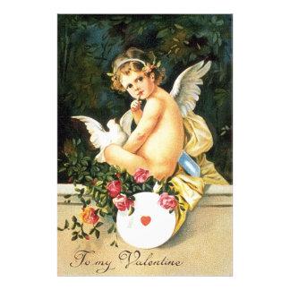 Cherub Cupid Dove Rose Heart Photo Art