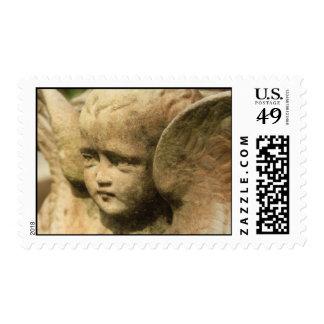 Cherub postage stamp