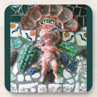 Cherub tile coaster