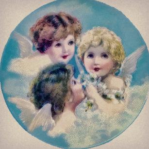 angel faces ornaments keepsake ornaments zazzle