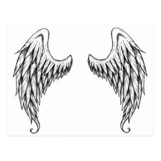 cherub wings 2 postcard