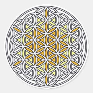 Cherubim01 Classic Round Sticker