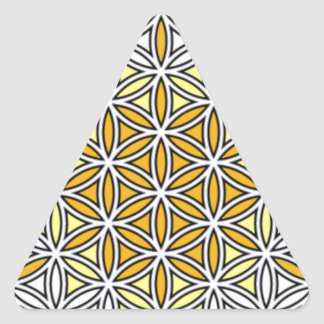 Cherubim01 Triangle Sticker