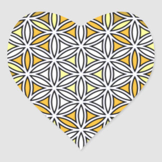 Cherubim4 Heart Sticker