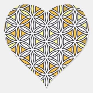 Cherubim4 Pegatina En Forma De Corazón