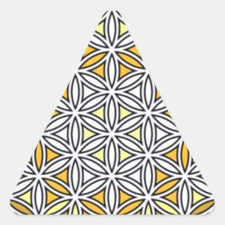 Cherubim4 Triangle Sticker