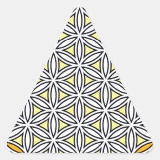Cherubim6 Triangle Sticker