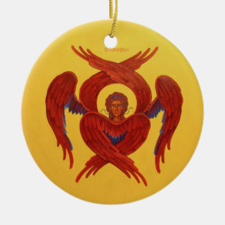 Cherubim and Seraphim Orthodox Icon Ornament