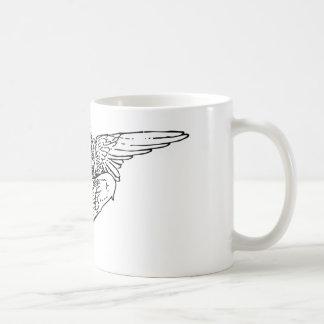 Cherubim angel painting coffee mug