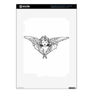 Cherubim angel painting skin for iPad 3