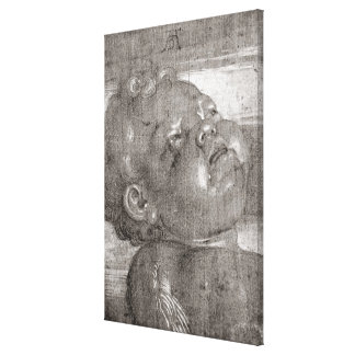 Cherubim Crying, 1521 Canvas Print
