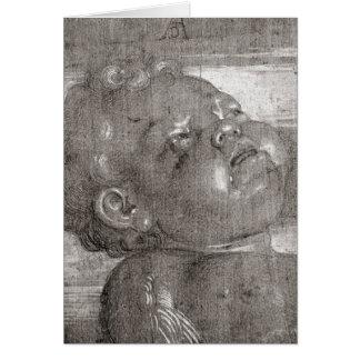 Cherubim Crying, 1521 Greeting Card