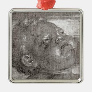 Cherubim Crying, 1521 Metal Ornament