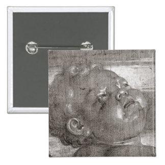 Cherubim Crying, 1521 Pinback Button