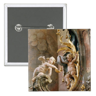 Cherubs, 1737-66 pinback button