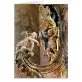 Cherubs, 1737-66 greeting card