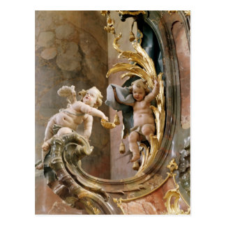 Cherubs, 1737-66 post cards