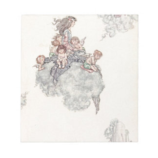 Cherubs and Angel Fairies Andersen's Fairy Tales Memo Notepad