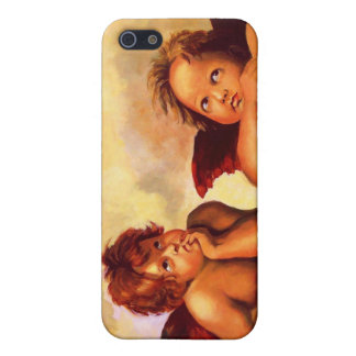 Cherubs, Angels, After Raphael: Original Artwork Case For iPhone SE/5/5s