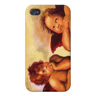 Cherubs, Angels, After Raphael: Original Artwork iPhone 4 Cases