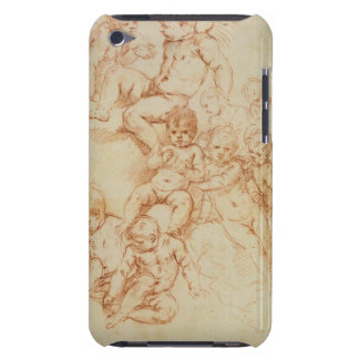Cherubs, early 17th century (red chalk on paper) barely there iPod case