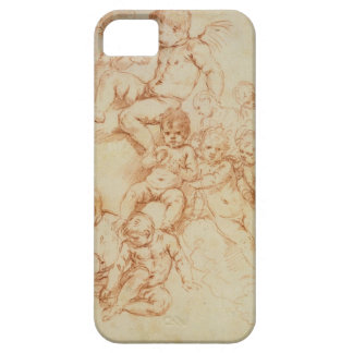 Cherubs, early 17th century (red chalk on paper) iPhone SE/5/5s case