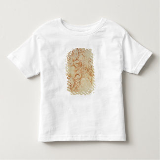 Cherubs, early 17th century (red chalk on paper) toddler t-shirt