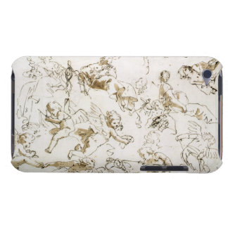 Cherubs, early 18th century (pen and ink and wash Case-Mate iPod touch case