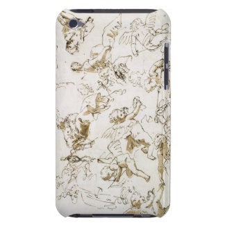 Cherubs, early 18th century (pen and ink and wash iPod touch case