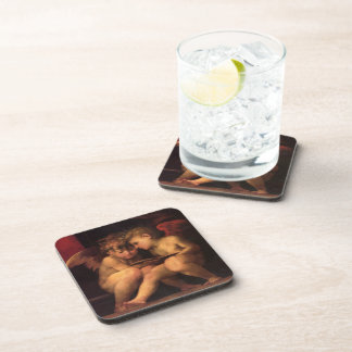 Cherubs from Madonna Enthroned with Four Saints Coaster