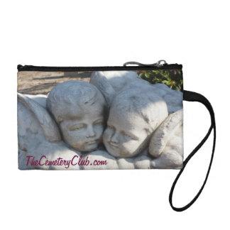Cherubs Gravestone Art Wristlet