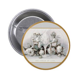 Cherubs & Ice Cream - Button #2