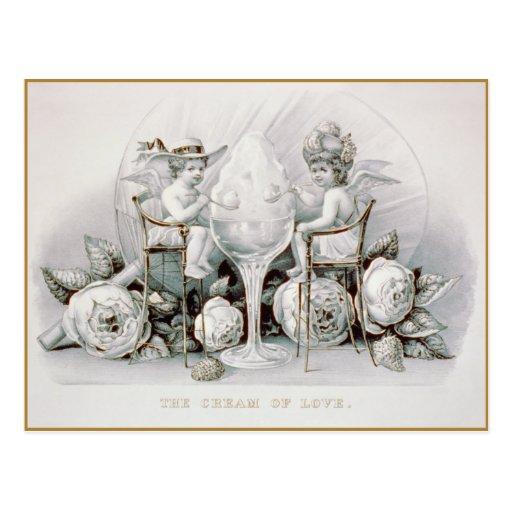 Cherubs & Ice Cream: Valentine - Postcard