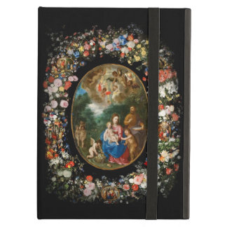 Cherubs Offer Gifts to Christ Child Case For iPad Air