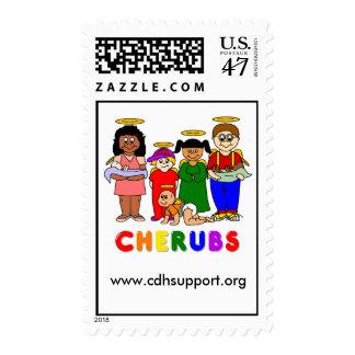 CHERUBS Postage Stamp