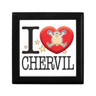 Chervil Love Man Keepsake Box
