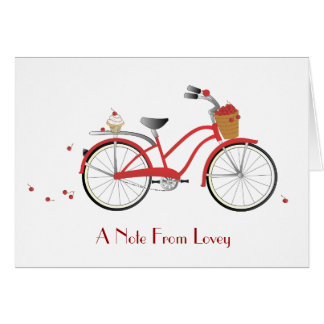 Chery Cherry Bicycle Card