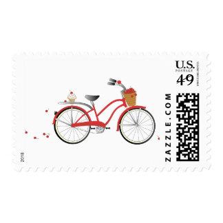 Chery Cherry Bicycle Stamp