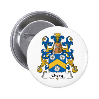 Chery Family Crest Pinback Button