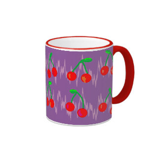 chery taza de dos colores