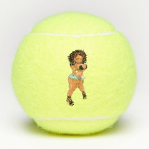 Cheryl T Slim & M's Collection Tennis Balls